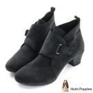 Hush Puppies LACARA 高跟踝靴-黑色