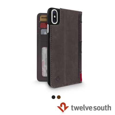 Twelve South BookBook iPhone X 復古書仿舊皮革保護...