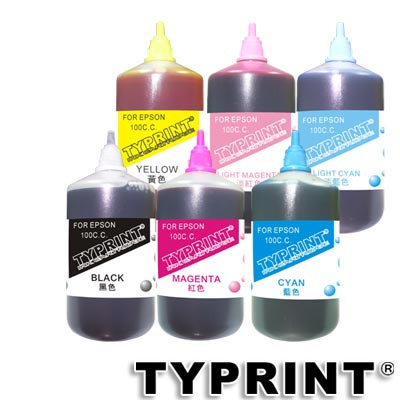 TY 『HP專用』 連續供墨補充墨水100CC (6色)