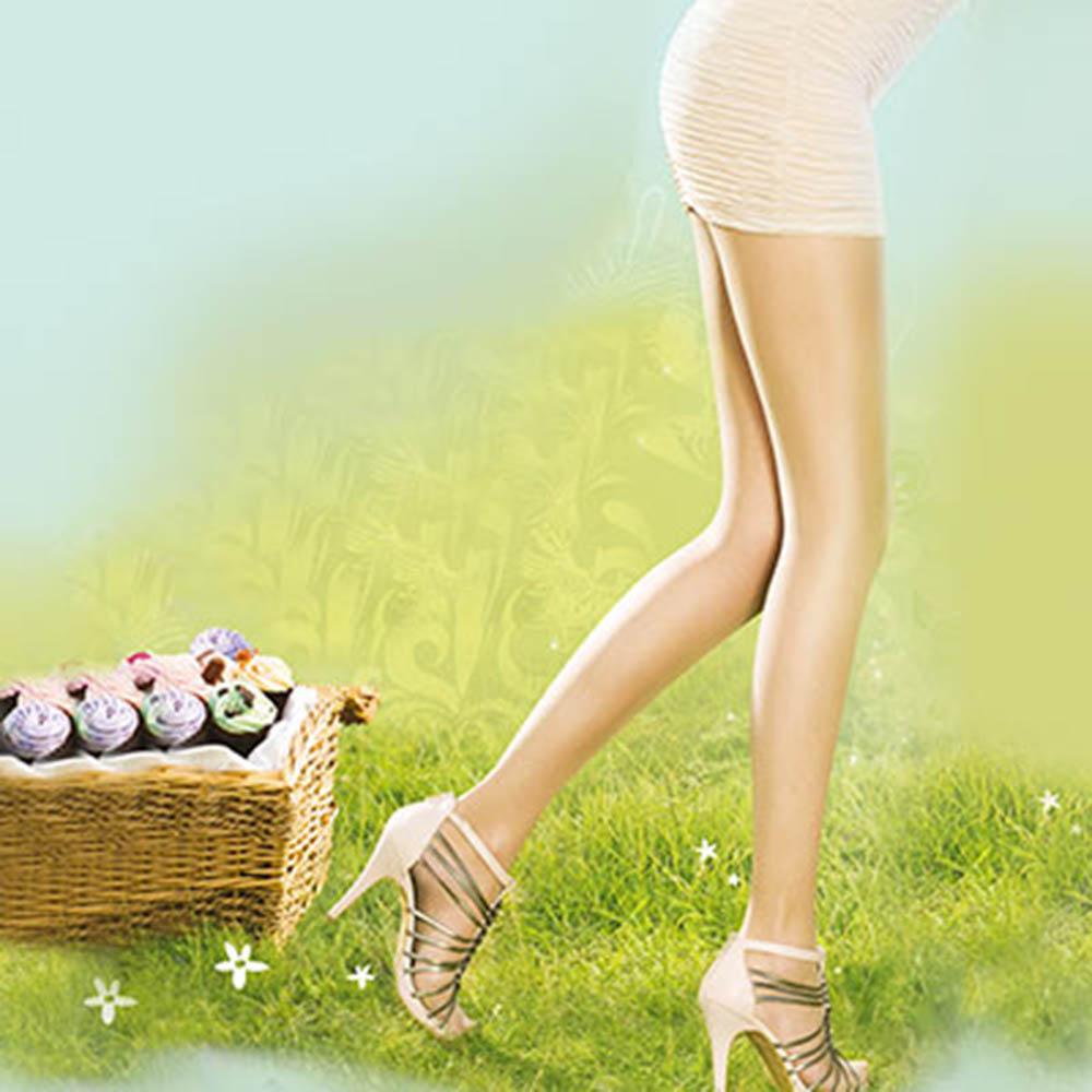 【摩達客】英國進口Pretty Polly自然透明神秘修飾設計彈性絲襪
