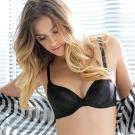 黛安芬-魔術胸罩A-C罩杯內衣(黑)