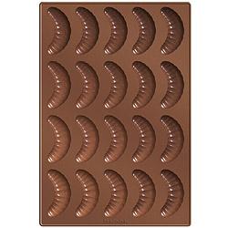 TESCOMA 20格矽膠彎月蛋糕烤盤(32cm)