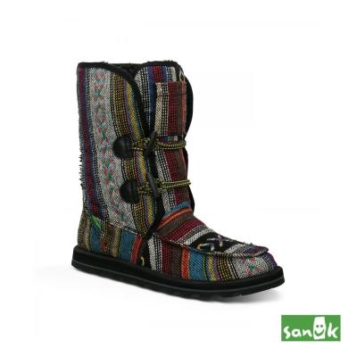 SANUK 民俗編織長筒靴-女款(多色)