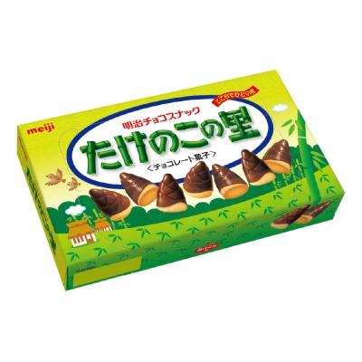 明治 竹筍造型巧克力餅乾(70g)