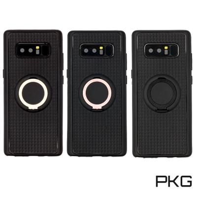 PKG SAMSUNG Note8 抗震防摔保護殼(支援磁吸支架)-指環款