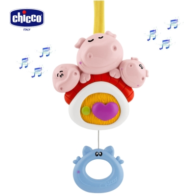 chicco-童話小豬音樂拉鈴