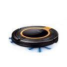 Zero-E 智慧偵測超薄型掃地機器人吸塵器-橘黑色