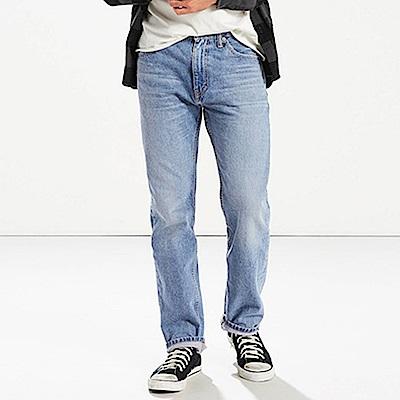 Levis 男款 505 標準直筒牛仔長褲 / 彈性布料