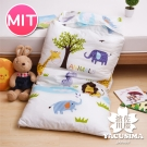 日本濱川佐櫻-叢林派對 純棉冬夏兩用兒童睡袋