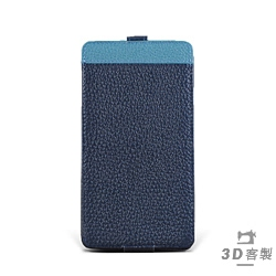 iphone i7 Plus / i8 Plus Style-D5 PDA式下蓋上方拼皮客製皮套