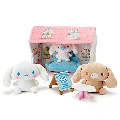 Sanrio 大耳狗喜拿趣味咖啡廳絨毛娃娃組