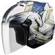 SOL SL-27S獨角獸3代3/4開放式安全帽(白藍) product thumbnail 1