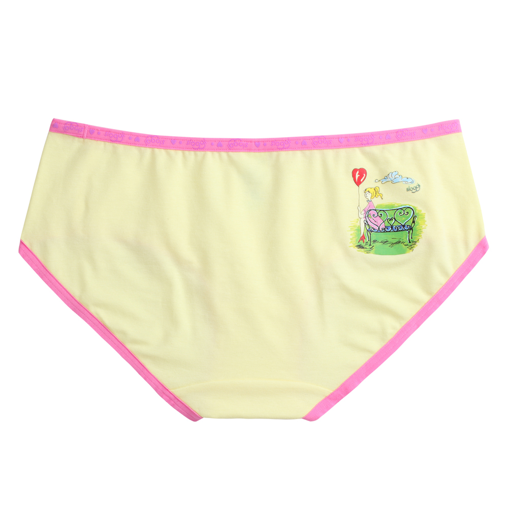 sloggi-TiAmo愛的進行式系列 平口內褲M-EL(鵝黃)