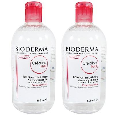 Bioderma 高效潔膚液(紅蓋) 500ml 兩瓶組