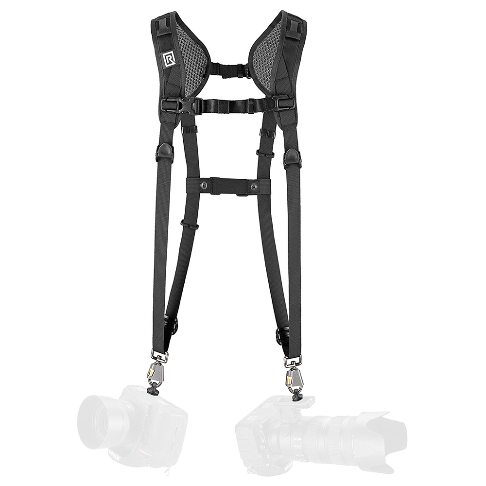 BLACKRAPID 輕觸微風DOUBLE Slim快速雙肩背帶-窄版(361004)