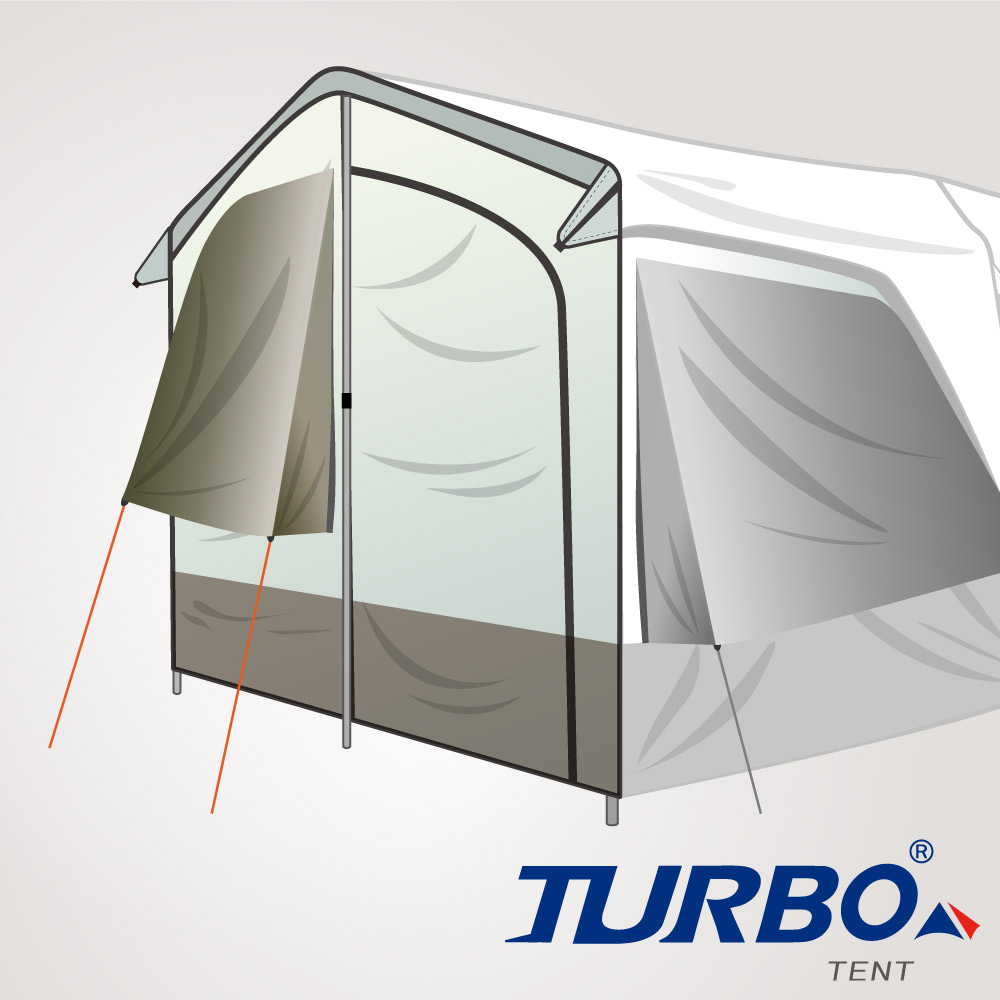 Turbo Tent Lite 300 配件2-前門片