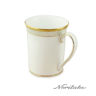 Noritake 美景之都馬克杯(金)