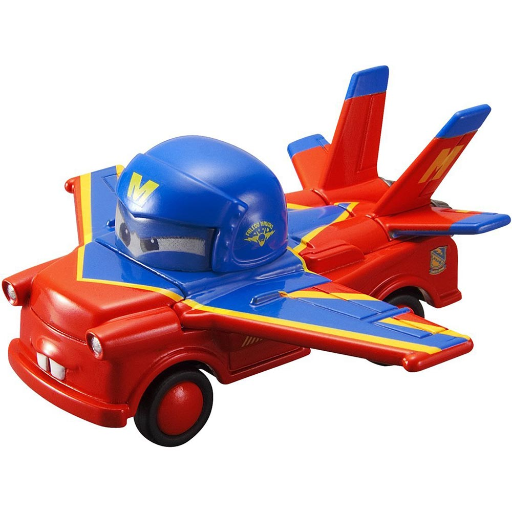 TOMICA CARS 飛行版 脫線A