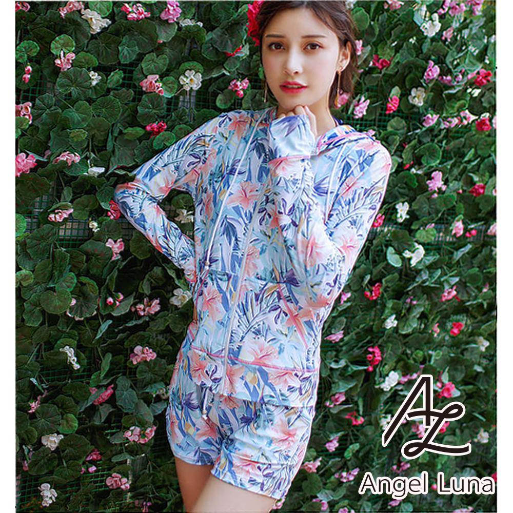 【AngelLuna】印花兩件式水母衣外套(日本直送3-10天到貨)