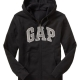 GAP-男生-外套-黑色-0361
