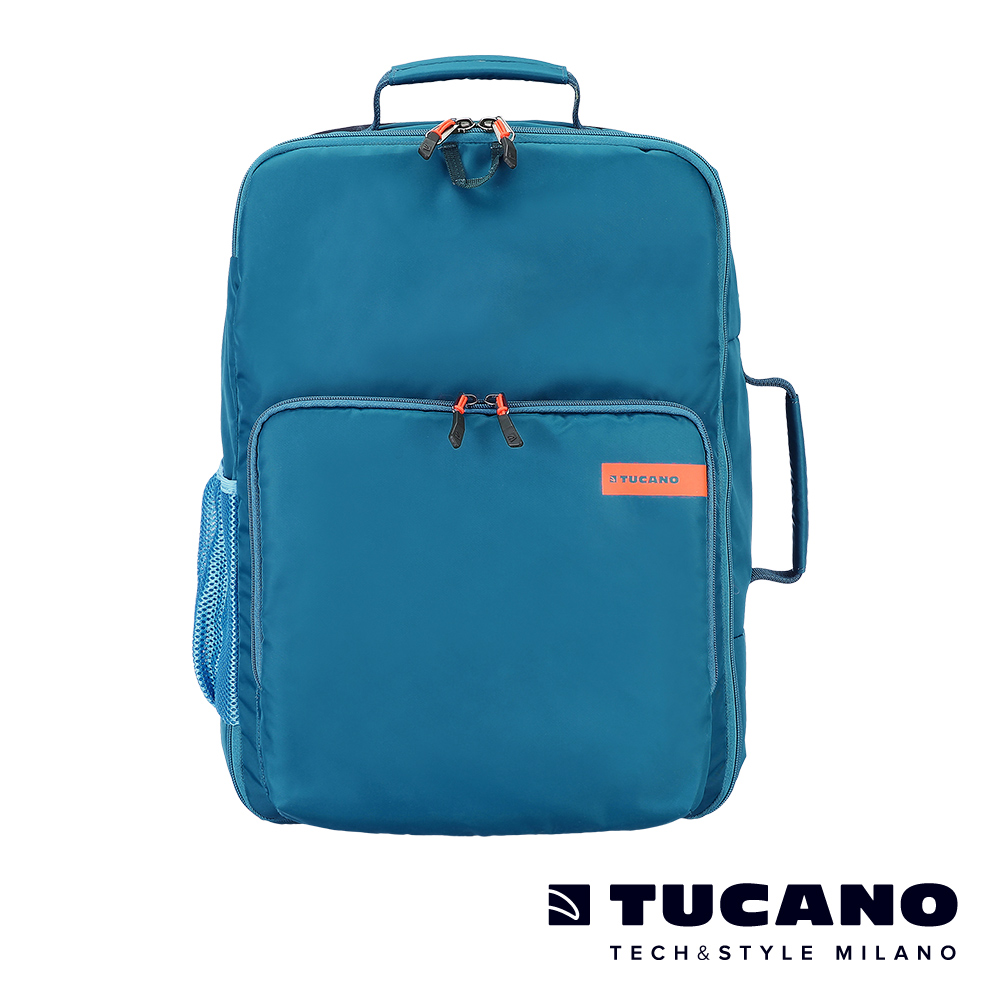 TUCANO MISTER 28.5L超大容量旅行運動後背包-淺藍