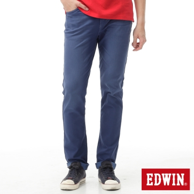 EDWIN-AB褲-迦績褲JERSEYS涼感色褲-男-藍色