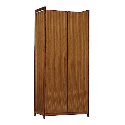 品家居 潘布2.7尺二門單吊衣櫃-80x55x202cm免組