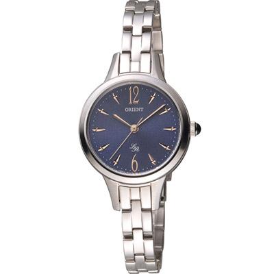 ORIENT 東方錶 LADY ROSE系列 都會時尚淑女腕錶-藍/28mm
