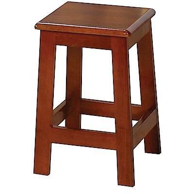 H&D 田園油木方高板凳 (寬31X深30X高45cm)
