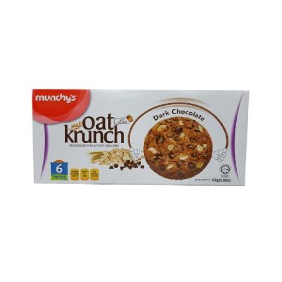 munchys 黑巧克力燕麥餅(156g)