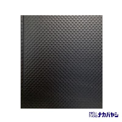 日本 Nakabayashi 自黏相本 珠光浮雕系列內頁黑 (黑)