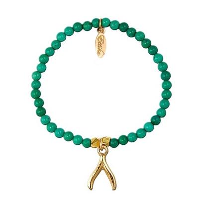 Ettika 美國品牌 土耳其藍 圓形珠珠 彈性手環