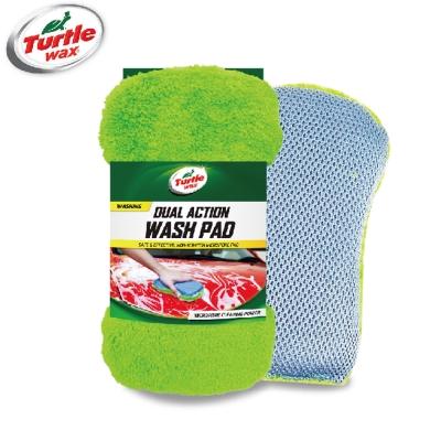 國龜牌Turtle Wax 雙面洗車海綿-TW115