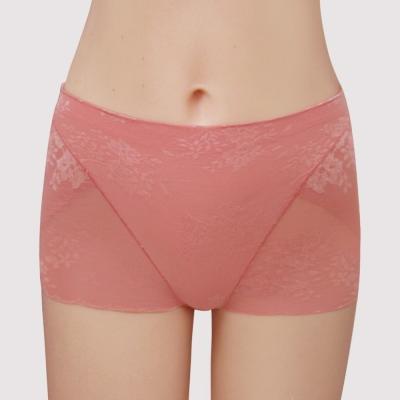 曼黛瑪璉-14AW-V極線高脅-中腰平口修飾內褲-法式橘