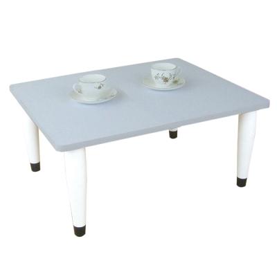 [60(寬)x60(深)]和室桌[素雅純白]三款腳座可選