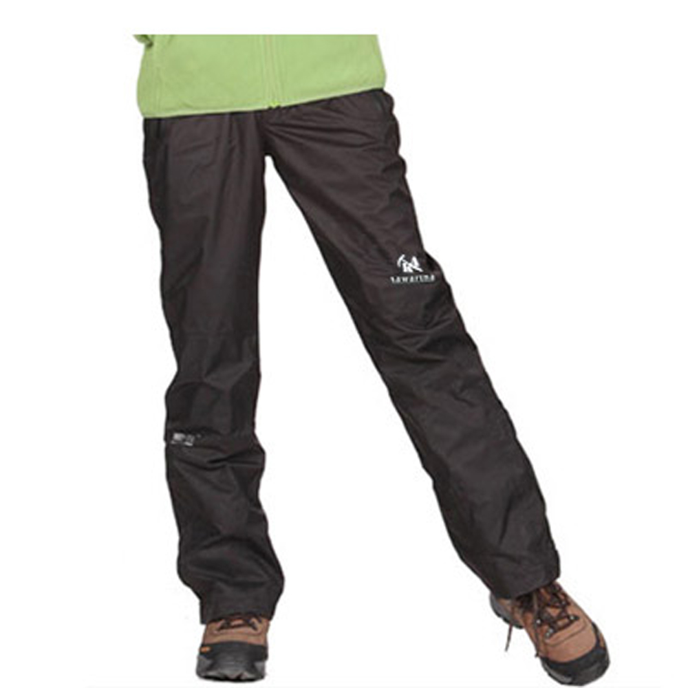 PUSH!機能服飾防水透氣耐磨抗撕裂舒適長褲(情侶款-女款)