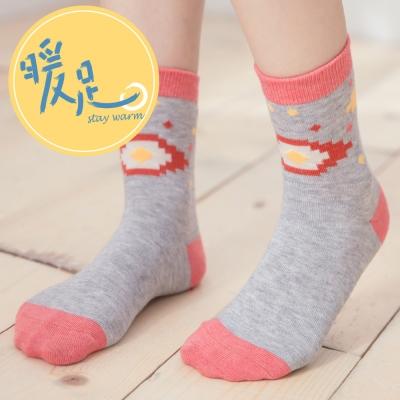 蒂巴蕾 暖足羊毛襪-印地安圖騰