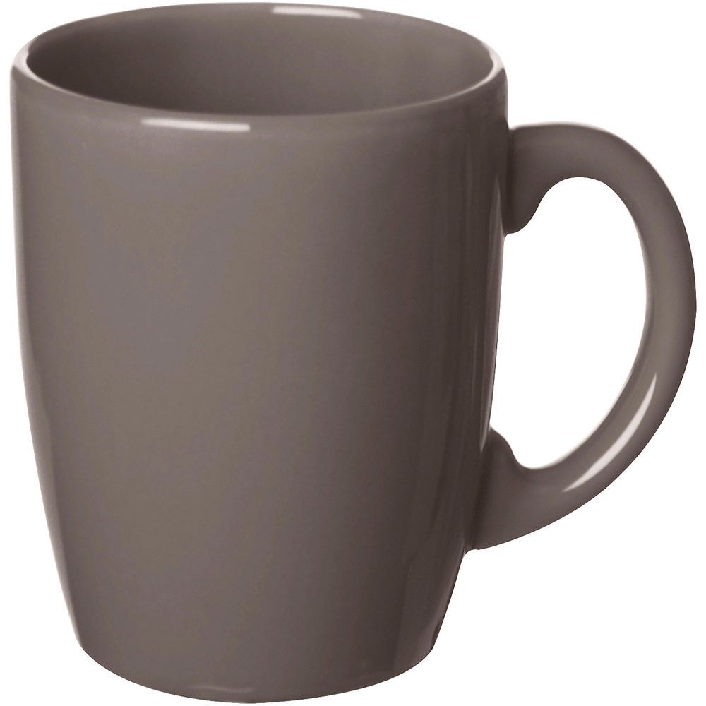 EXCELSA 陶製馬克杯(深褐260ml)