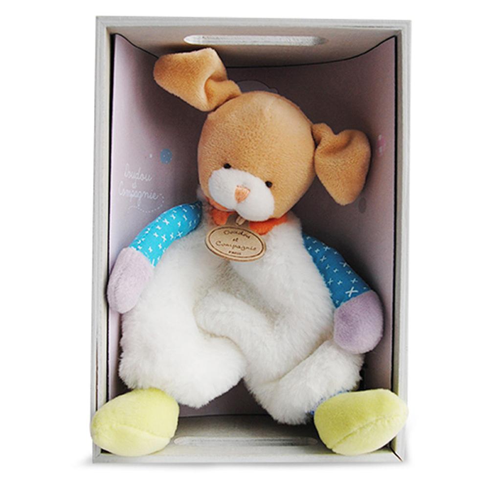 GMPBABY 法國娃娃Doudou黃耳長腳白熊布偶 (22cm)