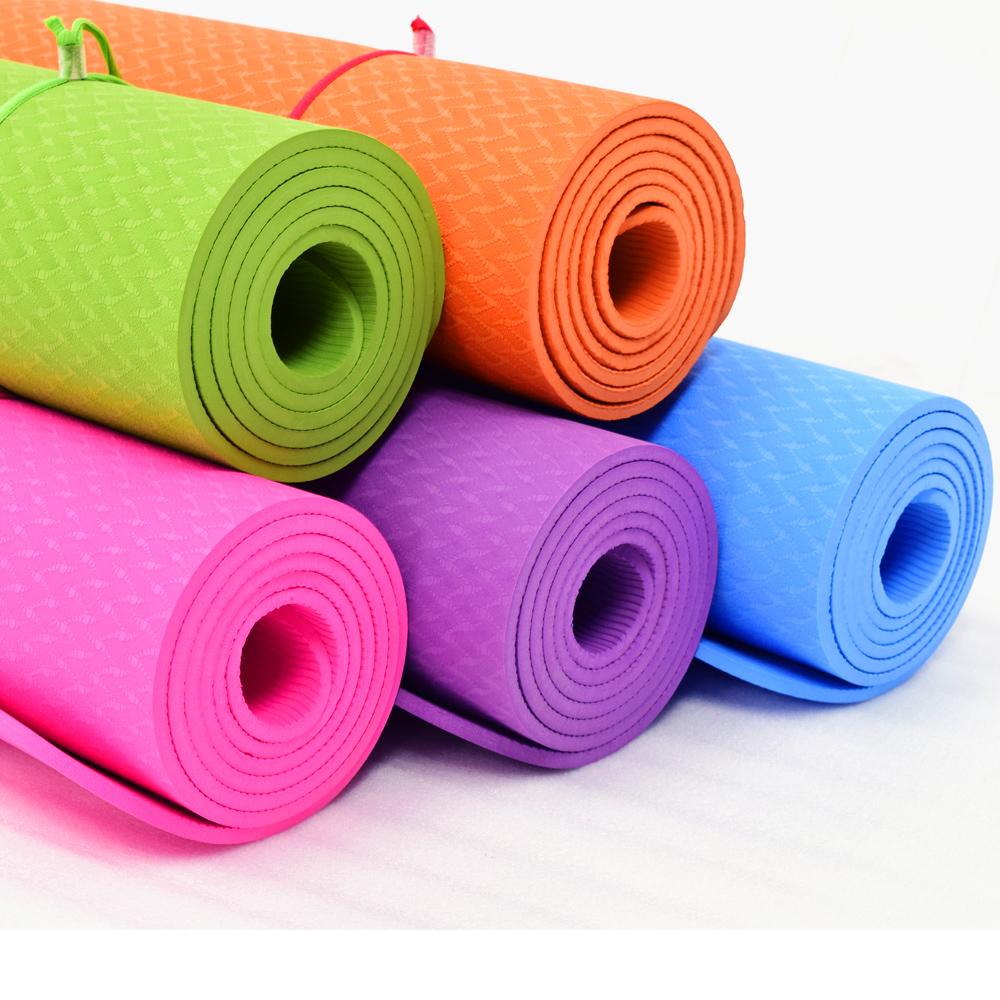 TPE加寬型6MM瑜珈墊(送背袋)