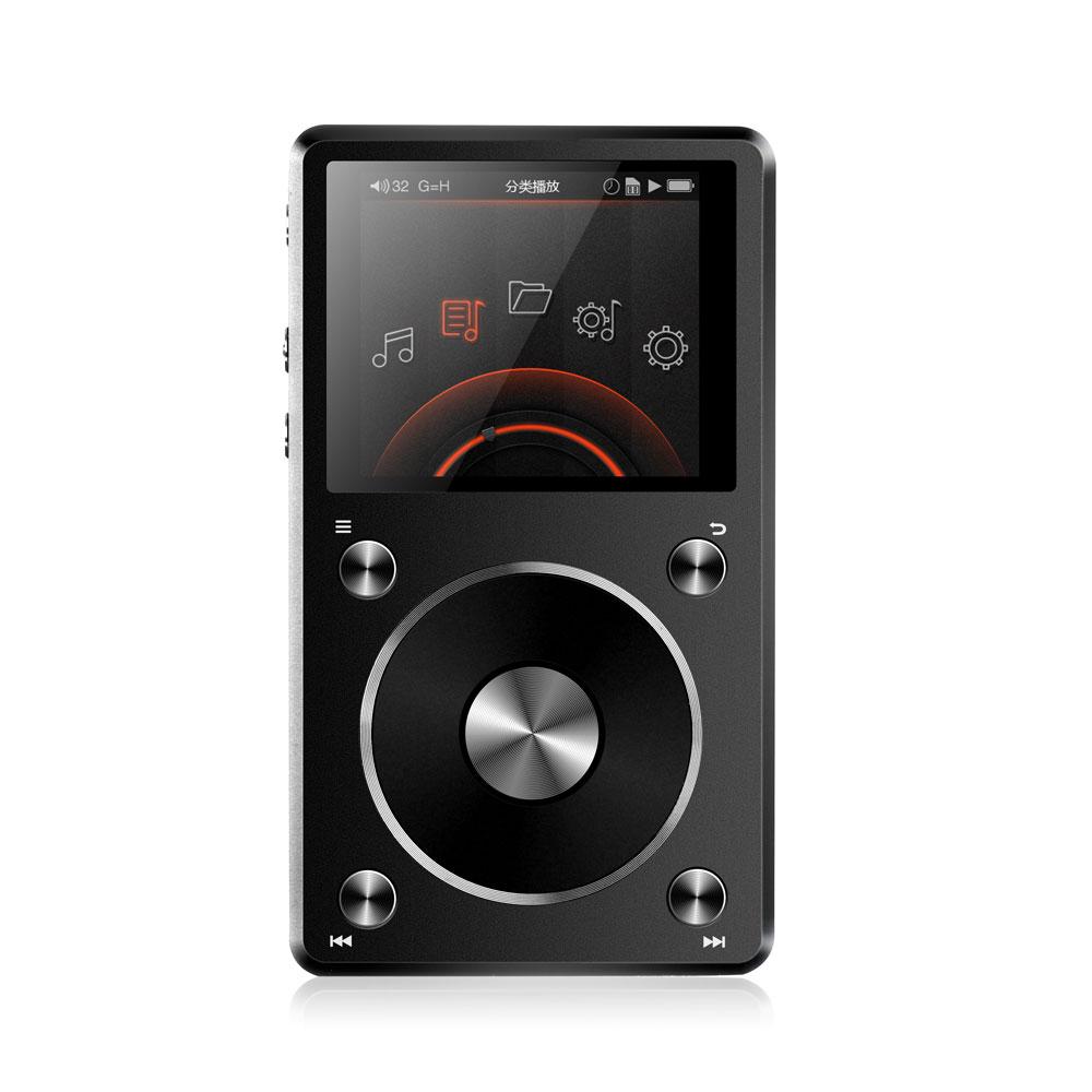 FiiO X5 第二代專業隨身Hi-Fi音樂播放器-黑