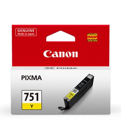 CANON CLI-751Y 原廠黃色墨水匣