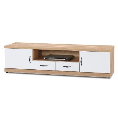 Boden-巴特萊6.1尺電視櫃/長櫃(兩色可選)-182x40x48cm