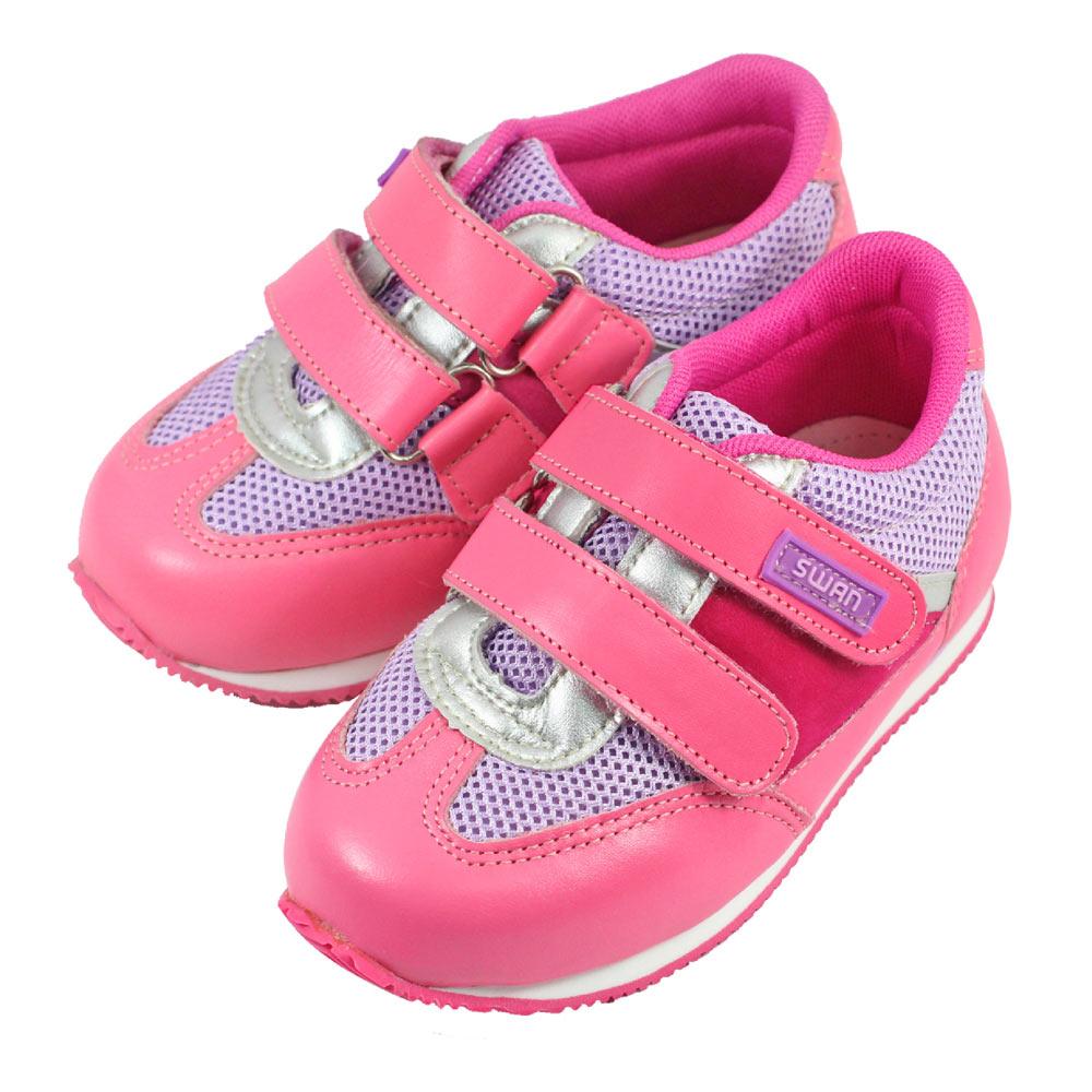 Swan天鵝童鞋-運動型矯正鞋 9316-桃