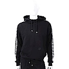 Versus Versace 撞色字母黑色連帽運動衫