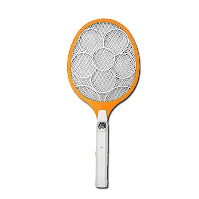 KINYO LED三層防觸電捕蚊拍電蚊拍(CM-2225)外接線充電