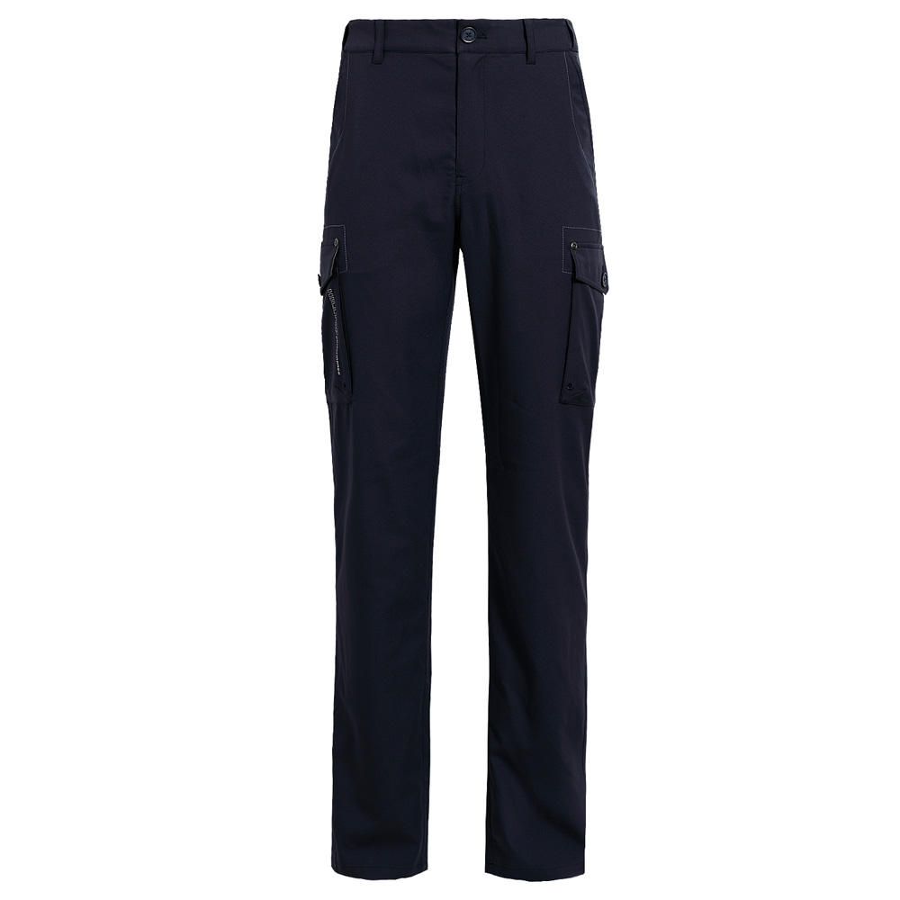 【hilltop山頂鳥】男款抗UV吸濕快乾彈性長褲S07M85-深藍