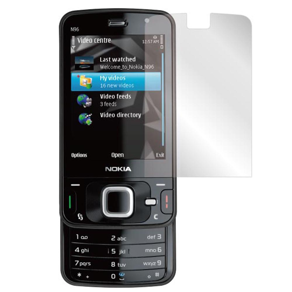 ZIYA Nokia N96 抗刮亮面螢幕保護貼2入