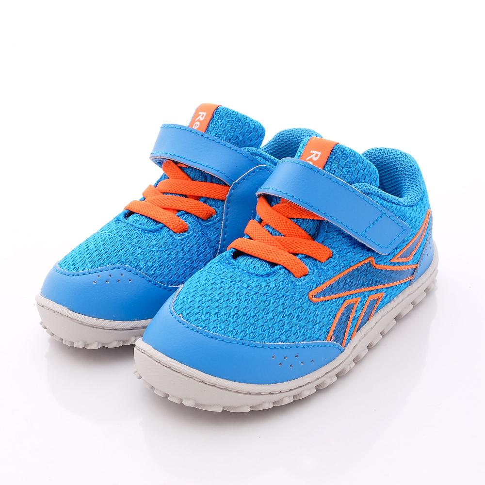Reebok頂級童鞋-創新亮彩慢跑款-M46679藍(中小童段)HN