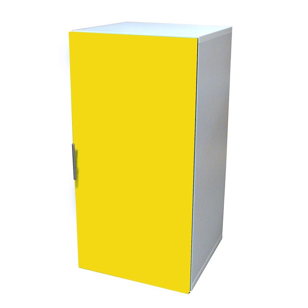 悅家居活力方塊木門三格書櫃